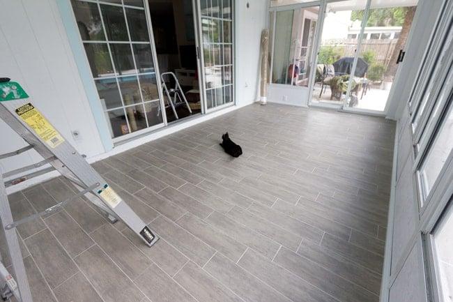 Sunroom week 3 jenna sue design blog for Solarium flooring