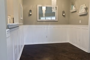 Dining Room Wainscoting Done