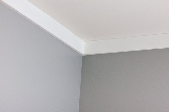 New Master Paint Trim Plank Wall