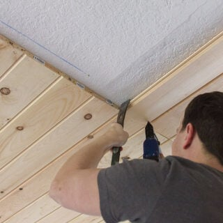 diy tongue and groove ceiling