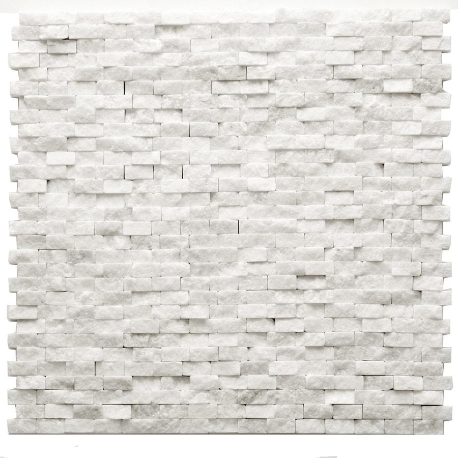 White Quartzite Mosaic Tile, Stone Mosaic,Natural Stone ...  Whitestone Wall Tile