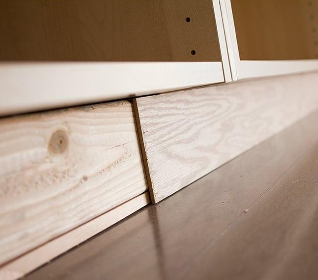 Kitchen Island No Toe Kick: Kitchen Chronicles: Building A Window Bench Seat
