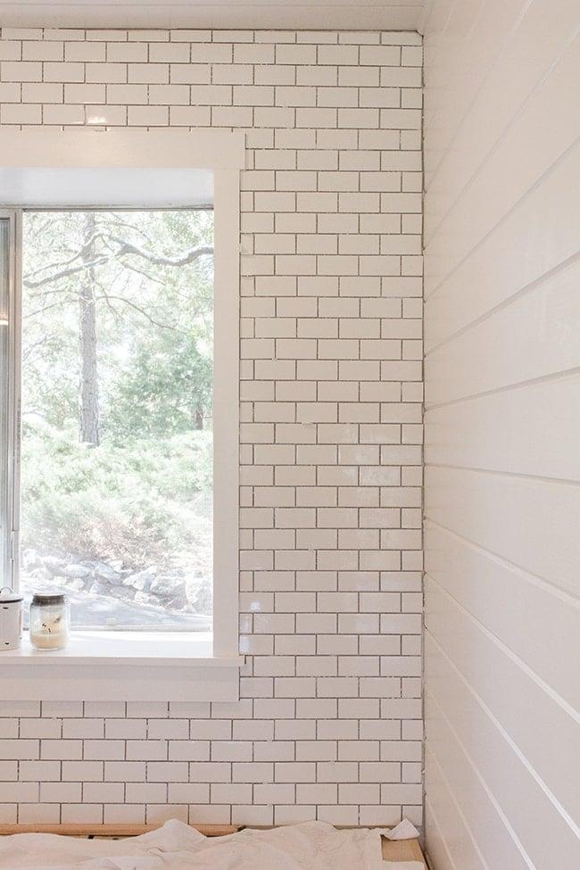 Kitchen Chronicles: A DIY Subway Tile Backsplash, Part 1 | Jenna Sue ...