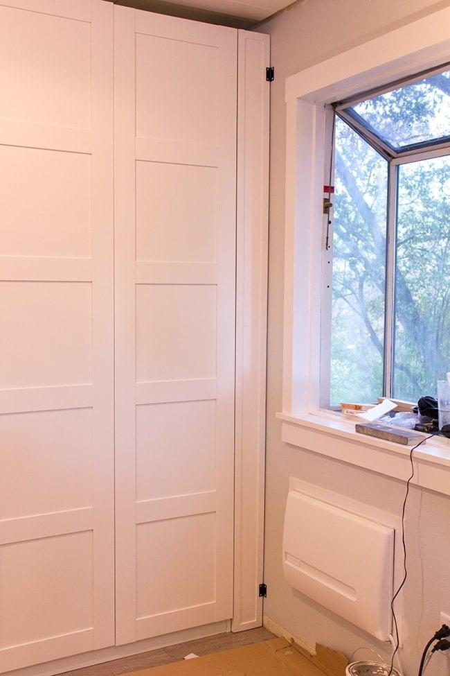 Kitchen Chronicles: An Ikea Pax Pantry, Part 1 | Jenna Sue Design Blog