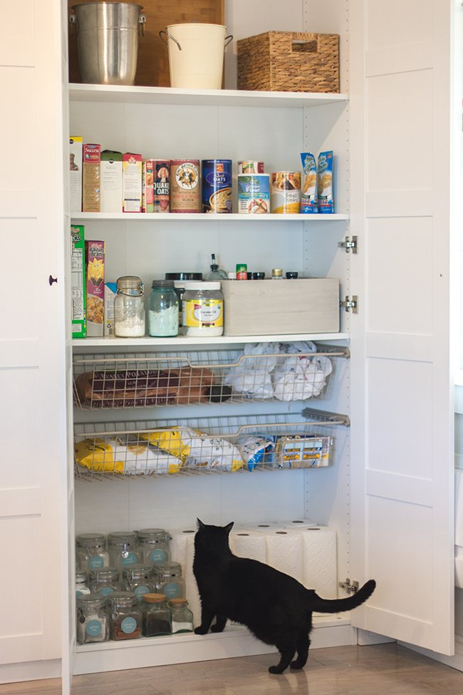 Kitchen Chronicles Ikea Pax Pantry Reveal