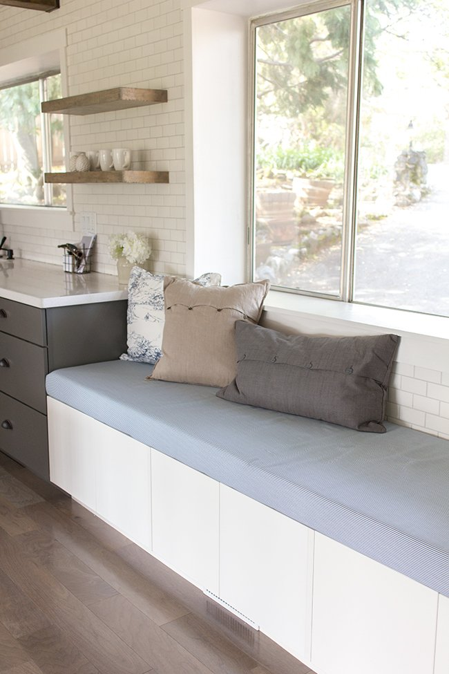 Kitchen Chronicles Upholstered Bench Seating