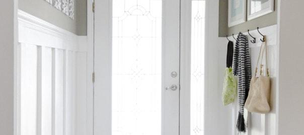 foyer board and batten