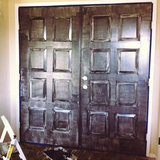 Foyer Door Hardware : Foyer updates new paint door hardware jenna sue