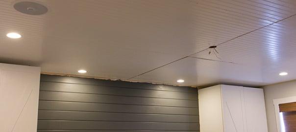 Master Makeover Beadboard Ceiling Lights Amp Speakers