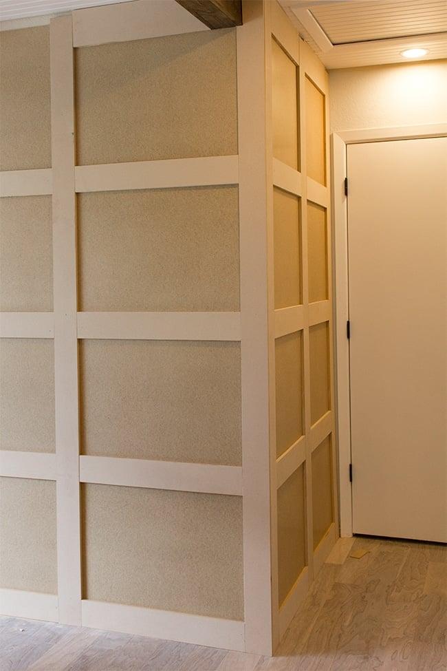 Diy Wall Paneling : Master makeover diy paneled wall jenna sue design