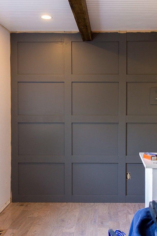 Master Makeover: DIY Paneled Wall | Jenna Sue Design Blog