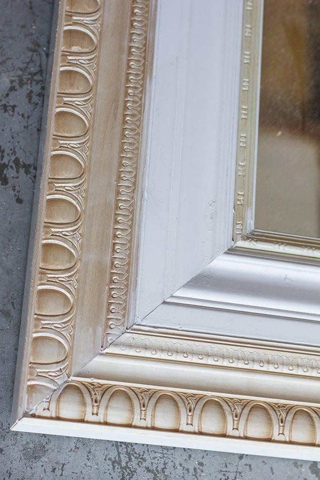 Master Makeover Diy Floor Mirror From Ikea To Vintage Jenna Sue