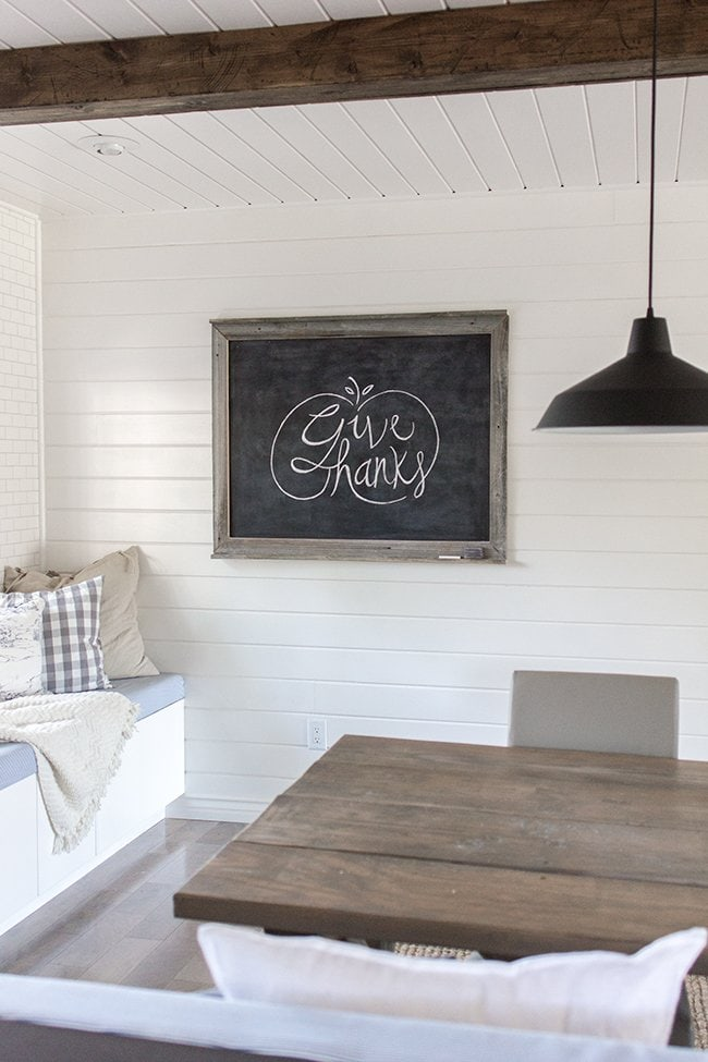 Easy Chalkboard Lettering Tutorial + Free Fall Template! | Jenna Sue ...