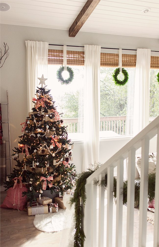 When choosing a style this year, I had a blank slate to work with. No stash of old Christmas decorations (well, just a few from our Florida home but they ...