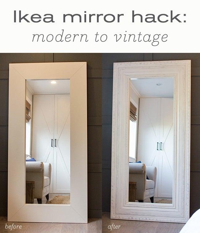 Master Makeover Diy Floor Mirror From, Ikea Long Length Mirror