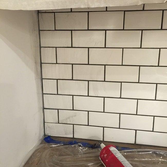 New Laundry Room Subway Tile Grout Tips Tricks Jenna Sue Design Blog