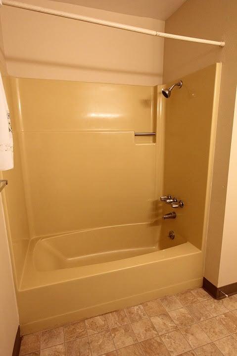 One Room Challenge The Reveal Jenna Sue Design Blog - 70s bathroom