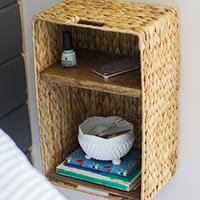 Bedside Basket Tables