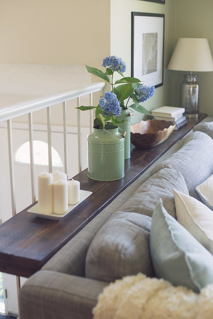 Picture of: 30 Diy Sofa Console Table Tutorial