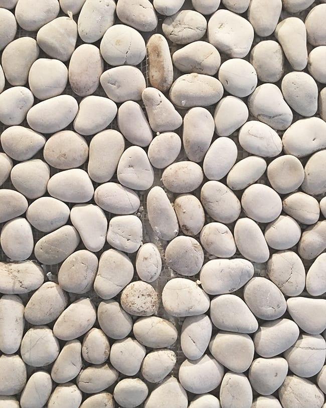 Pebble tile & a master bathroom update! | Jenna Sue Design Blog