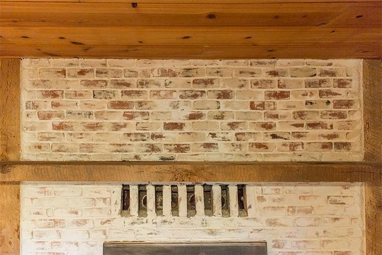 Mortar Wash Brick Fireplace Tutorial Amp Cottage Flip Update