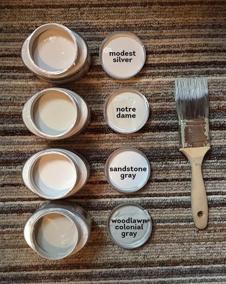valspar light gray paint