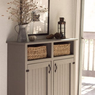 DIY farmhouse cabinet