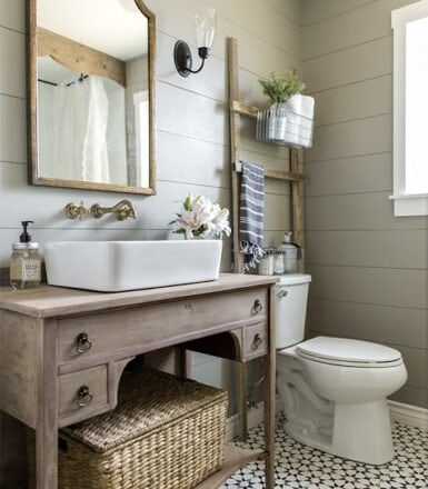 one room challenge guest bathroom