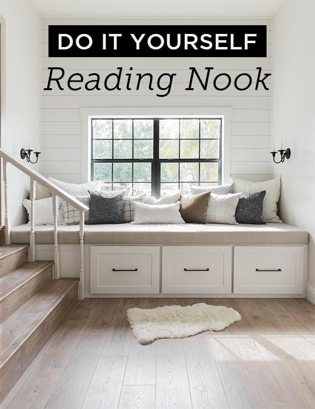 Diy Window Bench Seat Reading Nook