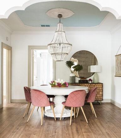 riverside retreat dining room