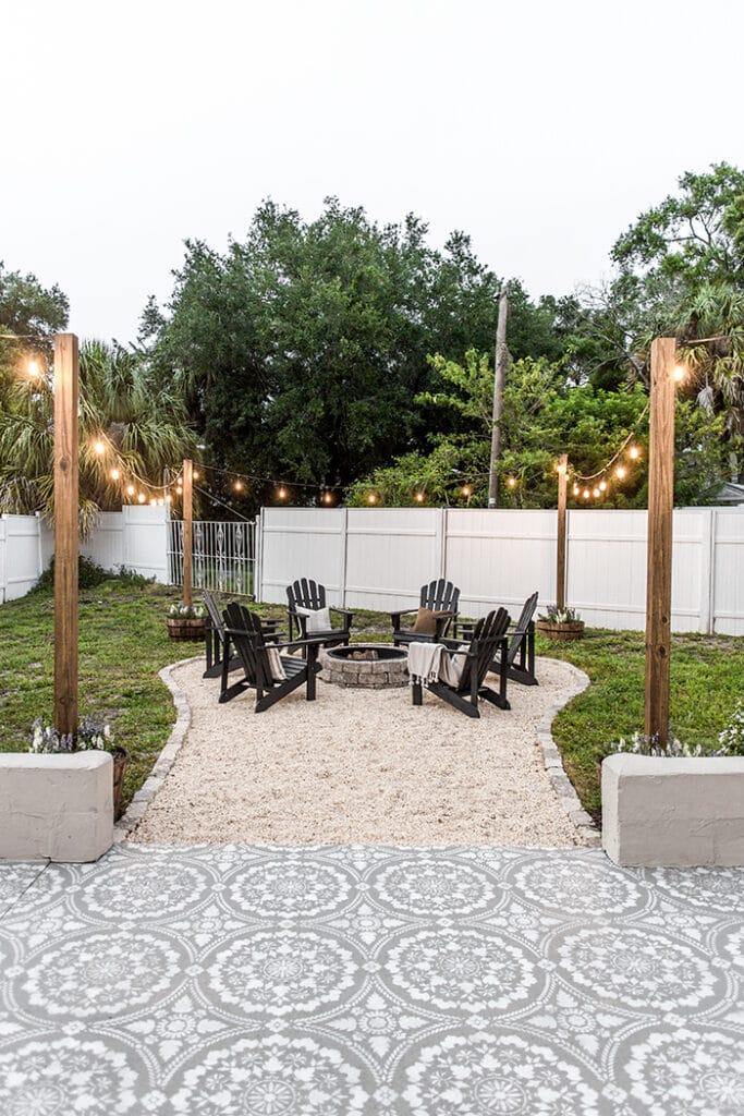 riverside retreat backyard