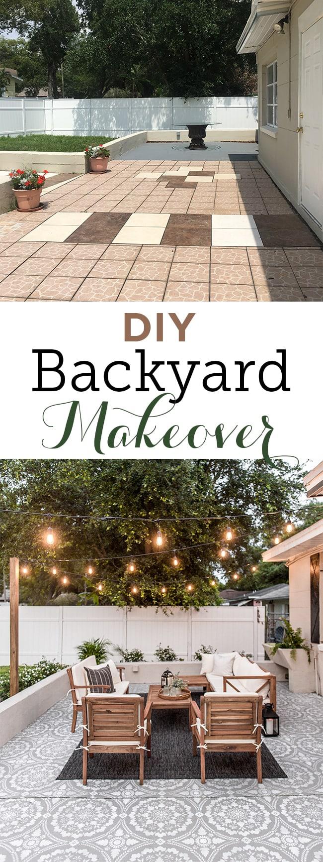 Backyard Makeover Reveal: Riverside Retreat | Jenna Sue Design Blog