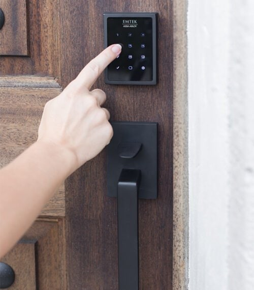 front door keypad