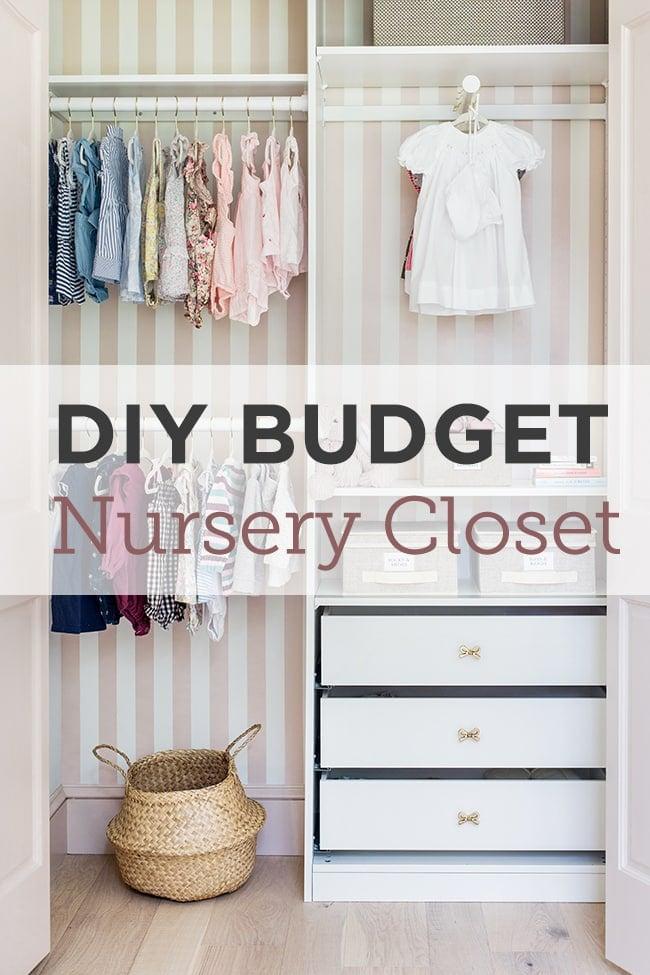 Nursery Closet Reveal