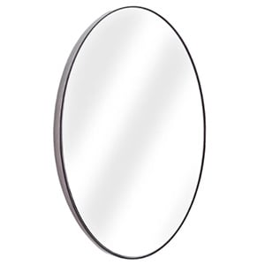 Black Oval Mirror