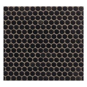 Black Penny Tile