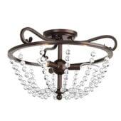glass beaded chandelier