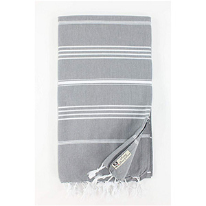 Gray Turkish Towel