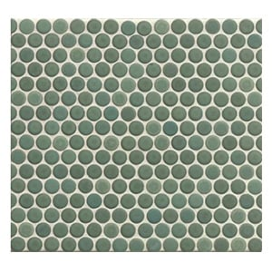 Green Penny Tile