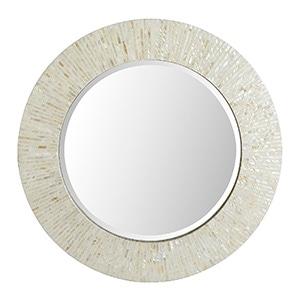 round capiz mirror