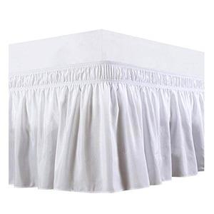 white Ruffle Bedskirt