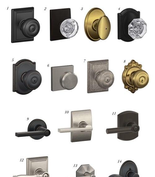favorite door hardware