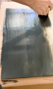 homemade chalkboard paint