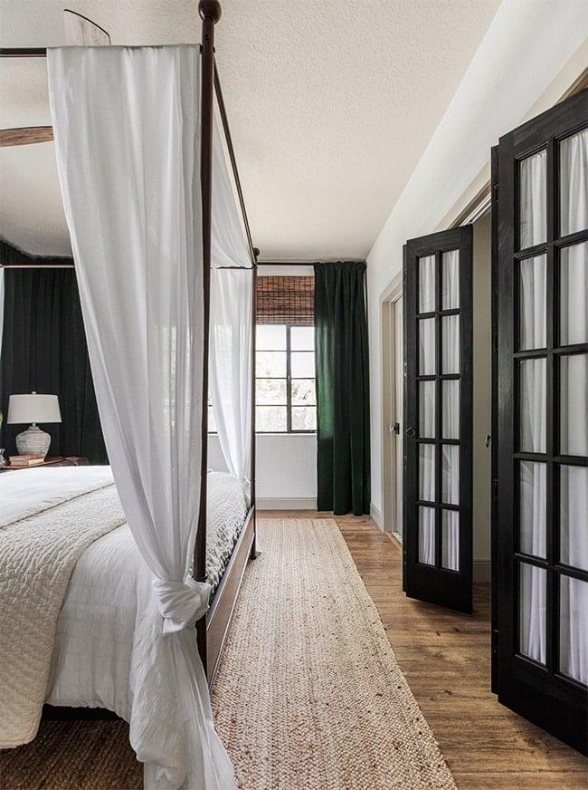 black french closet doors