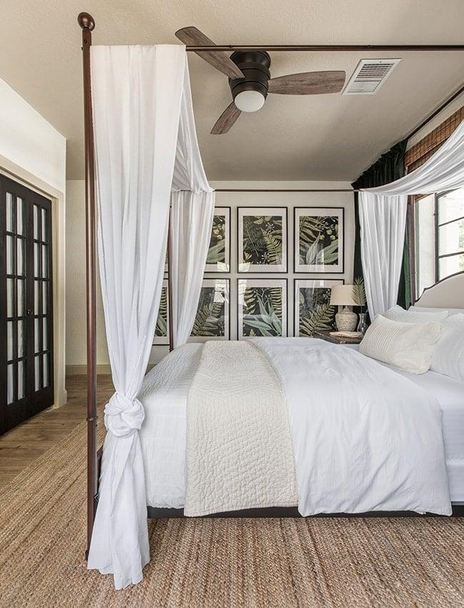 tropical oasis bedroom