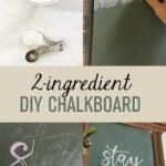 easy diy chalkboard paint