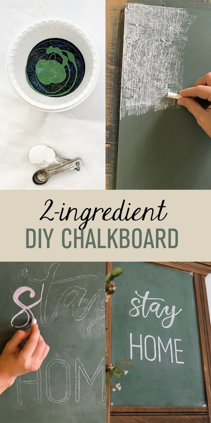 Diy 2 Ing Chalkboard