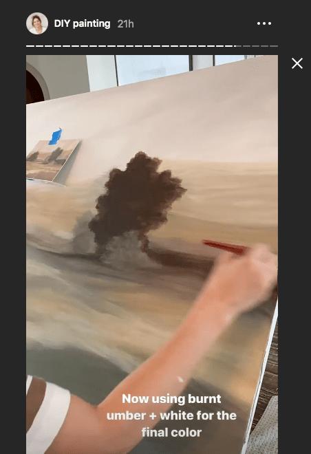 acrylic painting timelapse