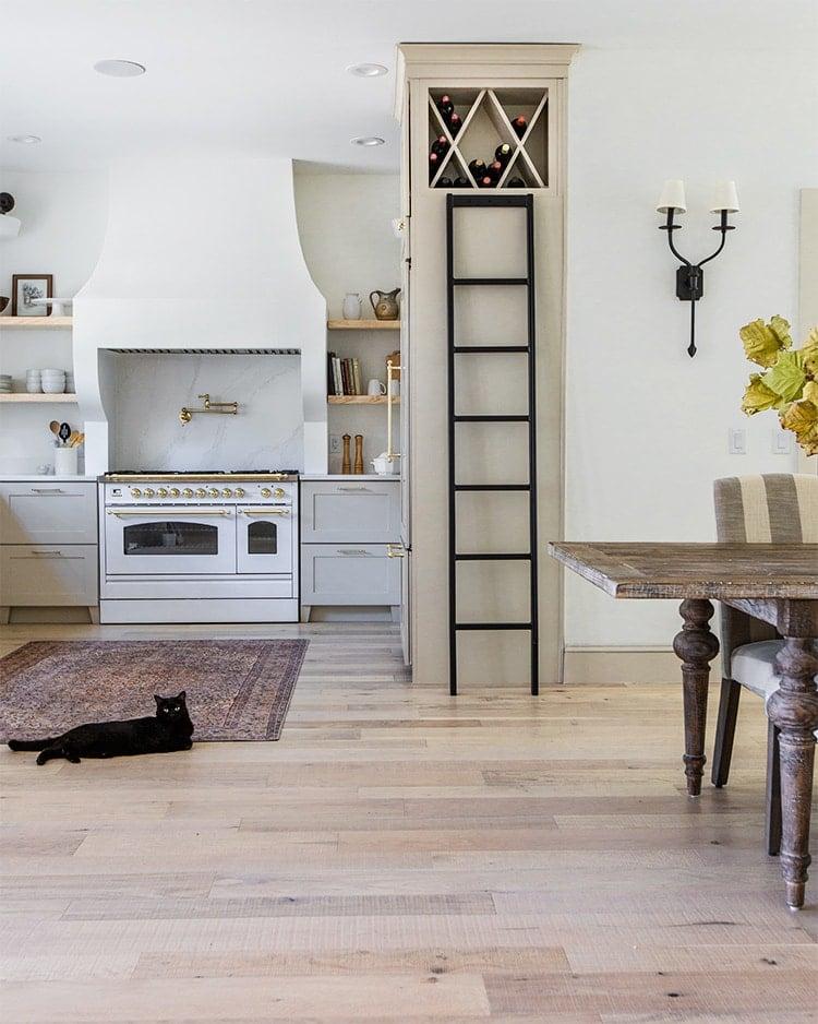 kitchen wine ladder