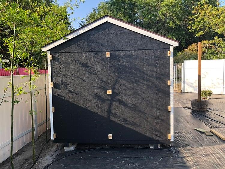 shed lattice diy